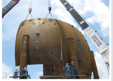 ERECTION  SPHERICAL TANK